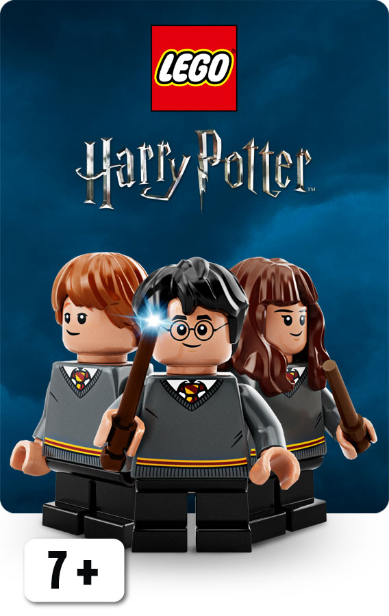 LEGO Harry Potter front D 1